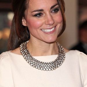 """Zara """"Kate Middleton"""" Crystal statement necklace"""